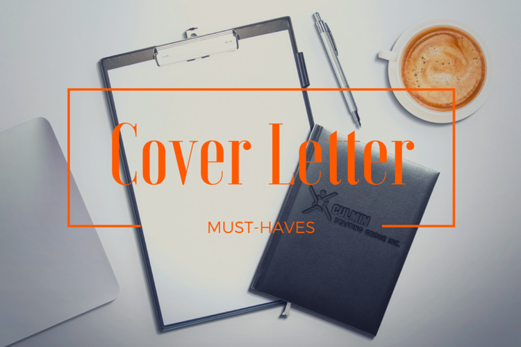 Cover Letter Must-Haves